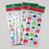 144 Units of Loot Bag Foil 15pk Christmas - Christmas Gift Bags and Boxes