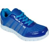 12 Units of Mens Running Sneakers In Blue And White
