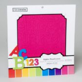 96 Units of 12x12 Bright Accent Punchouts - School Supply Kits