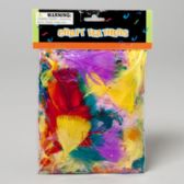 108 Units of Craft Feathers Multi-color 14g/.5oz Craft Polybag/header - Craft Kits
