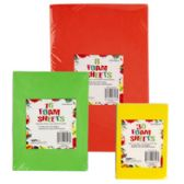 96 Units of Foam Craft Sheets 3sizes - Craft Kits