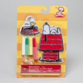 96 Units of Peanuts Snoopy On The House Suncatcher - Craft Kits