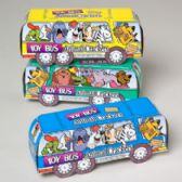 144 Units of Animal Crackers Toy Bus 1.75 Oz In Shipper Item