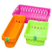 75 Units of Baskets 3 Sizes 6 Colors - Baskets