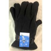 60 Units of Fleece Man Gloves - Fleece Gloves