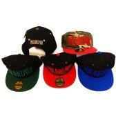 36 Units of Philadelphia Flat Bill Snap Back Hats Assorted