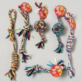 120 Units of Dog Toy Rope Chews