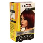 48 Units of Kraze Hair Color Brown Medium Red voilet - Hair Accessories