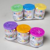 96 Units of Modeling Craft Dough 3pk Pastel Colors