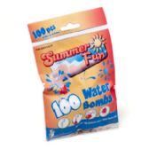 96 Units of 100pc Water Balloon Bombs - SUMMER TOYS