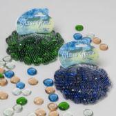 108 Units of Craft Marble Jumbo Flat - Craft Beads