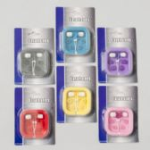 72 Units of Earphones Bud Style 6 Asst Colors Gov Electronic Blister Card - Headphones and Earbuds