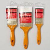 144 Units of Paint Brush Heavy Duty Wood Handle - Paint/Paint Brushes/Finger Paint
