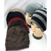 48 Units of MANS WINTER HAT 2 WAYS - Winter Beanie Hats