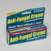 96 Units of Anti Fungal Cream .5 Oz 5 Panel Color Boxed Budpak - Skin Care