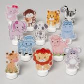 96 Units of Led Animal Novelty Tealight 12asst In Pdq Color-change Ea Inner Different/hangtag - CANDLE ACCESSORIES