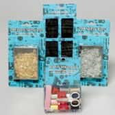 117 Units of Sewing Shipper 117pc Flr Display Needles/safetypins & Travel Kit Sweing Art DISPLAY - SEWING KITS/NOTIONS