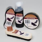 2 Units of Shoe Polish Shipper 4ast Cream & Liquid Polish, Sponge & Brush In 69pc Floor Display
