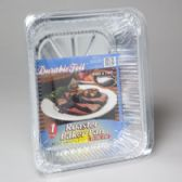 108 Units of Aluminum Roaster Baker W/lid Stack Pack In Pdq Made In Usa - Aluminum Pans
