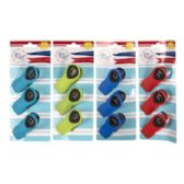 96 Units of 3 Pack Magnetic Bag Clip - Clips and Fasteners