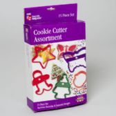 36 Units of Cookie Cutter 15 Piece Set Assrtmnt Boxed Ez Handy Helpers