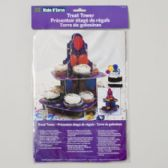 96 Units of Cupcake Stand Treat Tower 8.5x12 Balloon Design Carded