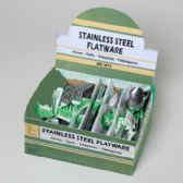 108 Units of Flatware Stainless 3pc Asst Knife/fork/tbs/tsp - Stainless Steel Cutlery Sets