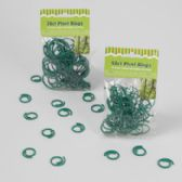 48 Units of 30/50 Count Garden & Plant Plastic Rings - GARDEN TOOLS