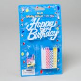 144 Units of Birthday Candles - Birthday Candles