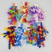 144 Units of Curly Bow 2pk W/birthday Prntd Ribbon 6asst Styles Gov Party Black N White Art - Bows & Ribbons