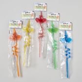 120 Units of Novelty Bubble Bee Straw - Straws and Stirrers