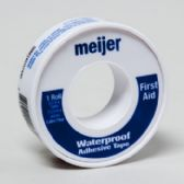 144 Units of Tape First Aid Waterproof .5in X 5yd Meijer - First Aid / Band Aids