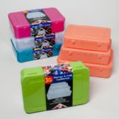 24 Units of Storage & Craft Container 3pc Set (large) 5 Colors - Storage Holders and Organizers