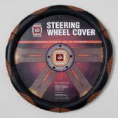 20 Units of STEERING WHEEL COVER  BEIGE/BLACK ON PEGGABLE CARDBOARD INSERT