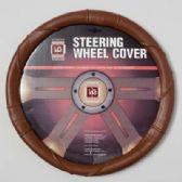 20 Units of STEERING WHEEL COVER  BEIGE ON PEGGABLE CARDBOARD INSERT