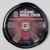 20 Units of STEERING WHEEL COVER CARBONE BLACK ON PEGGABLE CARDBOARD INSERT