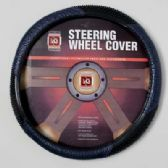 20 Units of STEERING WHEEL COVER  BLUE/BLK ON PEGGABLE CARDBOARD INSERT