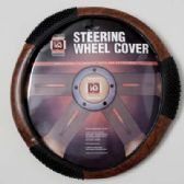20 Units of STEERING WHEEL COVER WOOD LOOK/ MASSAGE ON PEGGABLE CARDBOARD INSERT