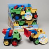 24 Units of Play Construction Trucks - Cars, Planes, Trains & Bikes