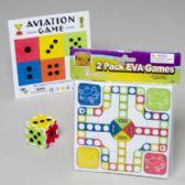 180 Units of Games Eva 2pk 6x8in Ludo W/build A Dice