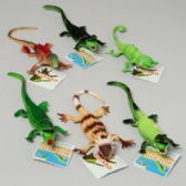 96 Units of Lizard/alligators 6ast Plastic Styles - Animals & Reptiles