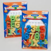 144 Units of Magnetic Learning Set 2asst Numbers & Letters - Educational Toys