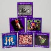 96 Units of Puzzle Anne Geddes 100 Pcs 6 Assorted