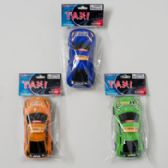 144 Units of Taxi 3asst Colors 6in Free Wheel - Cars, Planes, Trains & Bikes
