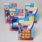 108 Units of Travel Games Tic Tac Toe Or 4 In A Row/blue & Orange - Dominoes & Chess