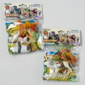 144 Units of Wild Animal Playset 7pc W/play Mat - Animals & Reptiles