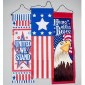 96 Units of Banner Patriotic - 4th Of July