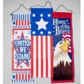 96 Units of Banner Patriotic - Seasonal Items