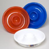 96 Units of Snack N Dip Bowl 13in 3 Colors Red, White, Blue - 4th Of July