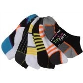 120 Units of Women's Cushion Sport Ankle Socks - Womens Ankle Sock